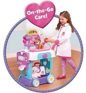 Just Play Doc McStuffins Plastic Toy Hospital Care Cart