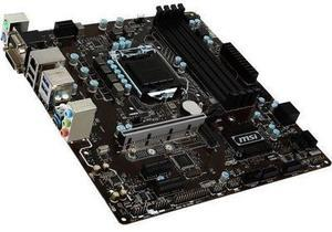 MSI 1151 Intel B250 HDMI SATA 6Gb/s USB 3.1 Micro ATX Intel Motherboard