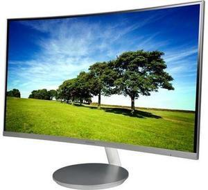 "SAMSUNG 591 Series C27F591 Silver 27"" Curved 4ms (GTG) 60 Hz Refresh Rate Widescreen LCD/LED Monitor"