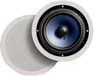 "Polk Audio RC80i White Round 8"" High Performance In-Ceiling/In-Wall Speaker Pair"