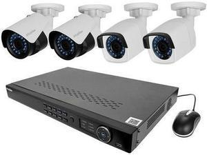 LaView LV-KNT982A42W4 8 Channel Security System