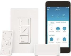 Lutron Caseta Wireless Home Automation Lighting Kit