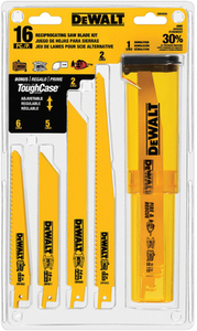 DEWALT 16-Pack Bi-Metal Reciprocating Saw Blade Set