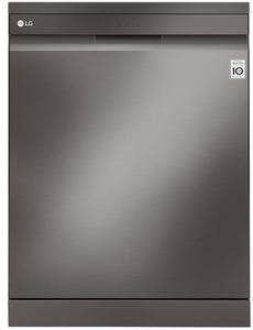 LG QuadWash 44-Decibel Built-In Dishwasher (Fingerprint-Resistant Black Stainless Steel) (Common: 24-in; Actual: 23.75-in) ENERGY STAR