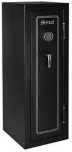 Sentinel 18 Gun Convertible Fire Safe with Electronic Lock and Door Storage