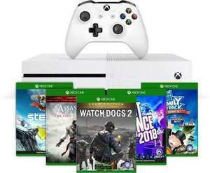 Xbox One S 500GB Console + Free Game and 1-Month Game Pass + Free Game