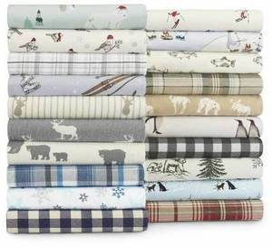 Eddie Bauer Cotton Flannel Sheet Set