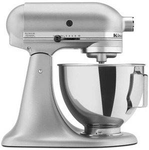 Kitchen Aid Metallic Silver 4.5 Quart Tilt Head Mixer