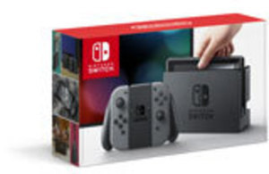 Nintendo Switch Console with Gray Joy-Con by Nintendo
