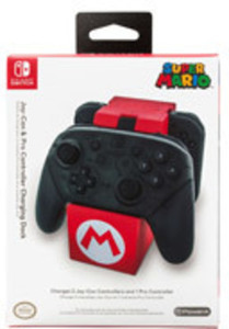 Nintendo Switch Joy-Con & Pro Controller Charging Dock - Super Mario Edition by BD & A