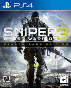 Sniper Ghost Warrior 3 by City Interactive PS4