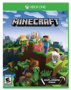 Minecraft with Explorers Pack Xbox One